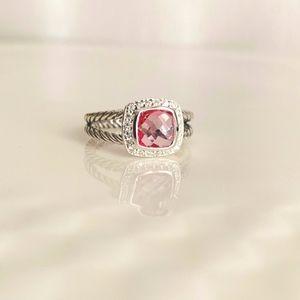 David Yurman Petite Albion Tourmaline Ring